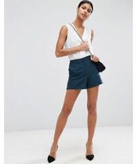 ASOS Tailored - Shorts in A-Linie - Grün