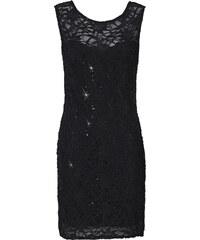 BODYFLIRT Spitzenshirtkleid ohne Ärmel in schwarz von bonprix
