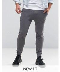 ASOS - Pantalon de survêtement super skinny - Gris - Gris