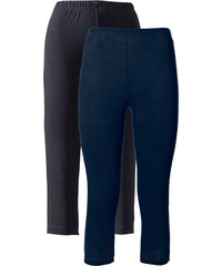 bpc bonprix collection Stretch-Caprileggings in blau für Damen von bonprix