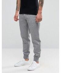 Armani Jeans - Pantalon de jogging avec chevilles resserrées et logo - Gris - Gris