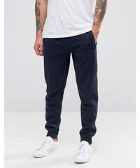 Armani Jeans - Pantalon de jogging avec chevilles resserrées et logo - Bleu marine - Bleu marine