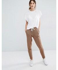 Vero Moda - Pantalon de survêtement avec lien à nouer sur le devant - Marron