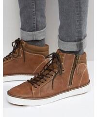 Call It Spring - Eteilla - Mittelhohe Sneakers - Bronze