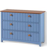 bpc living Kommode Paula, mit 3 Schubladen in blau von bonprix