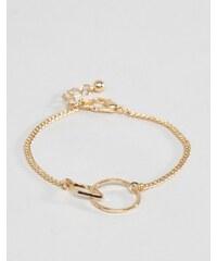 ASOS - Bracelet à formes entrelacées - Doré