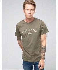Fjallraven - Trekking Equipment - T-shirt à imprimé - Vert - Vert