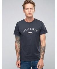 Fjallraven - Trekking Equipment - T-shirt à imprimé - Bleu marine - Bleu marine