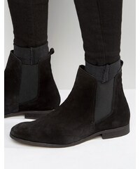 Zign - Chelsea-Stiefel aus Wildleder - Schwarz