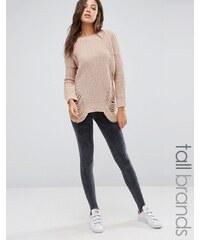 Missguided Tall - Legging fuseau - Noir