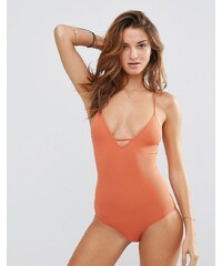 Free People - Move Along - Bodysuit - Rot