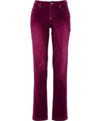 John Baner JEANSWEAR Stretch-Cordhose STRAIGHT, Normal in lila für Damen von bonprix