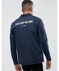 Pull&Bear - Veste worker - Bleu marine - Bleu marine