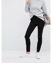 DL1961 Jessica Alba X DL No.2 - Superenge, knöchellange Jeans mit ungesäumtem Abschluss - Schwarz