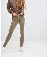 DL1961 Jessica Alba X DL No.3 - Instasculpt - Skinny-Jeans mit Reißverschluss-Details - Grün