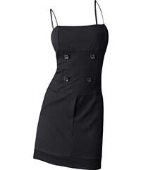 BODYFLIRT Stretch-Kleid ohne Ärmel in schwarz von bonprix