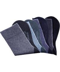 H.I.S HIS Klima-Socken (4er-Pack) in blau von bonprix