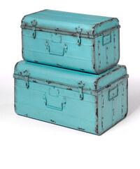 bpc living Kofferset Rocko 2tlg. in blau von bonprix