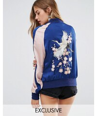 Young Bohemians - Bomber chic brodé - Multi