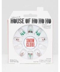 Elegant Touch - House of Ho Ho Ho - Snow Globe - Kunstnägel - Mehrfarbig