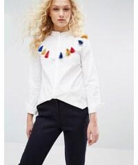I Love Friday - Hemd mit Troddel - Weiß
