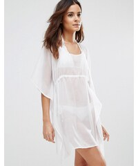 Echo - Robe tunique de plage - Blanc
