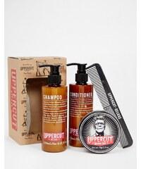 Uppercut Deluxe - Hair Monster Hold Wax - Geschenkset - Mehrfarbig