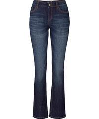 John Baner JEANSWEAR Stretch-Bootcut-Jeans, Kurz in schwarz für Damen von bonprix