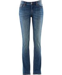 John Baner JEANSWEAR Stretch-Bootcut-Jeans, Lang in blau für Damen von bonprix