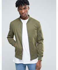 Only & Sons - Bomber doux au toucher - Vert