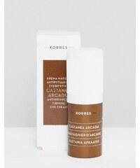Korres - Castanea Arcadia - Crème contour des yeux raffermissante et anti-rides 15 ml - Clair