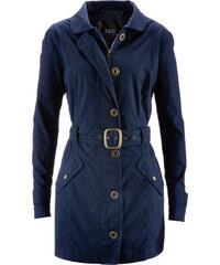 bpc bonprix collection Trenchcoat langarm in blau für Damen von bonprix
