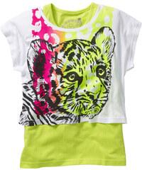 bpc bonprix collection Boxy Shirt + Tanktop (2-tlg.) in weiß für Mädchen von bonprix