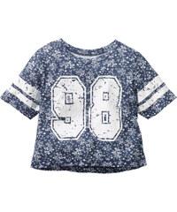 bpc bonprix collection Weites Shirt kurzer Arm in weiß für Mädchen von bonprix