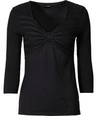 BODYFLIRT Strickpullover 3/4 Arm in schwarz für Damen von bonprix