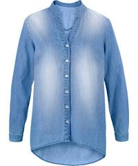 John Baner JEANSWEAR Jeanshemd, langarm in blau von bonprix