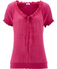 bpc bonprix collection Tunika, Kurzarm in pink von bonprix