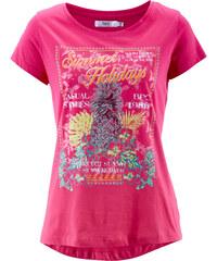 bpc bonprix collection Kurzarm-Shirt in pink für Damen von bonprix