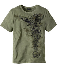 RAINBOW T-Shirt Slim Fit kurzer Arm in grün für Herren von bonprix
