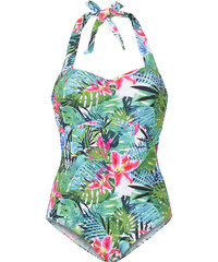 bpc selection Badeanzug in grün für Damen von bonprix