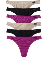 bpc bonprix collection String (6er-Pack) in lila für Damen von bonprix