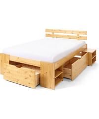 bpc living Bett Delta, 140x200 cm in beige von bonprix