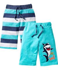 bpc bonprix collection Bermuda (2er-Pack) in blau für Jungen von bonprix