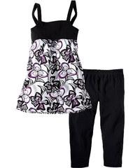 bpc bonprix collection Kleid + 3/4-Leggings (2-tlg.) ohne Ärmel in schwarz für Mädchen von bonprix