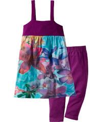bpc bonprix collection Kleid + 3/4-Leggings (2-tlg.) ohne Ärmel in lila für Mädchen von bonprix