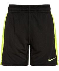 Nike Performance DRY FLY kurze Sporthose black/volt