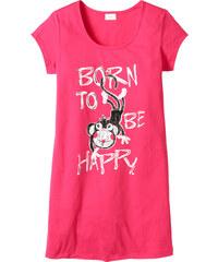 bpc bonprix collection Longshirt kurzer Arm in pink für Damen von bonprix