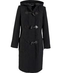 bpc bonprix collection Woll-Mantel langarm in schwarz für Damen von bonprix