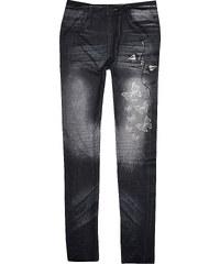 Buffalo Jeans Leggings, Gr. 140/146-176/182 in beige für Mädchen von bonprix