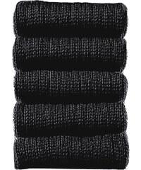 COTTON REPUBLIC Herrensocken kurz (5er-Pack) in schwarz für Herren von bonprix